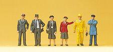 "Preiser 10244 H0 Figurines ""Belgian Train staff"" #new original packaging##"