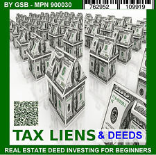 REI Audio Course Mp3 Deeds Tax Sales Liens All 50 States PC-CD