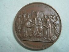 Cologne Cathedral began in 1248 completed in 1880 bronze medal