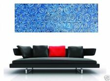 Giant (over 60in.) Dot Painting Blue Aboriginal Art