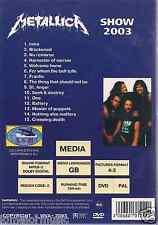 rare DVD PROMO ONLY 80s M E T A L L I C A  SHOW 2003 no remorse BATTERY frantic