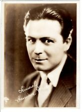 """Antique Fan Photo """"Harrison Ford"""" Silent Movies 1920's"""
