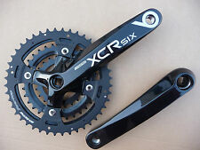 SR Suntour XCR6-T424 Chainset Bicycle Crank 175mm Black Bike MTB NEW Chainwheel