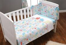 Tickety Boo Babies Nursery 3 Piece Bedding Bale Quilt Bumper Sheet Set Unisex