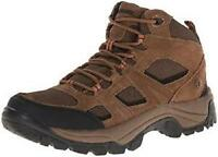 Northside Monroe Mid Top Men's Hiking Boots Brown+Black Outdoor Trail Shoes