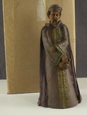 "Cairn Tom Clark Caspar 1150 Boxed Cast Pecan Resin Sculpture 9.25"" Figurine"