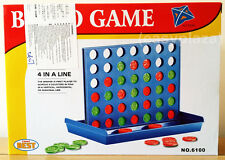 EDUCATIONAL FUNNY BINGO LINE-UP 4 STRATEGY BOARD GAME TOY FOR CHILDS KIDS FAMILY
