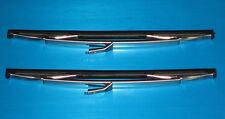 Daimler 250 Saloon & Majestic V8 Wiper Blades Genuine TEX. NEW (Pair)