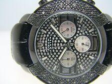 Mens Aqua Master Jojo Joe Rodeo Black Met Diamond Watch