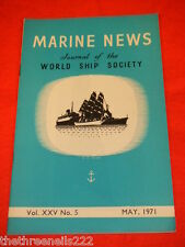 MARINE NEWS - MAY 1971 VOL XXV # 5
