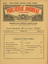 the philatelic journal of great britain . october 1941
