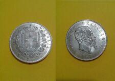 5 LIRE SCUDO REGNO DI VITTORIO EMANUELE III - ANNO 1870 - Riproduzione - 347