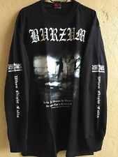 Black metal long sleeve M shirt Ulver Taake Immortal Emperor Mayhem Darkthrone