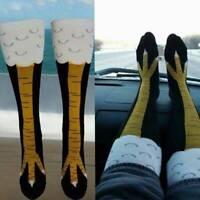 Women Chicken Foot Socks Leg/Knee Socks 3D Chicken Socks Performance Stockings