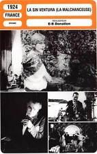 FICHE CINEMA : LA SIN VENTURA - Legrand,Guitty,Donatien 1924 La Malchanceuse