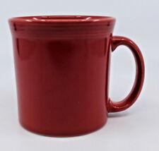 Fiestaware Chartreuse HLC Homer Laughlin Ceramic Coffee Tea Mug Cup Red USA