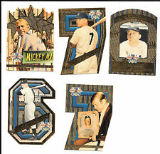 1997 SCORE BOARD MICKEY MANTLE SHOEBOX COLLECTION FULL SET + BOX & WRAPPERS