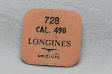 Nos Longines parte no 728 para el personal de balance calibre 490 X 3