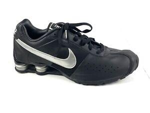 NIKE Shox Classic II Men's Size 15 Black Silver Running Shoes 343900-001