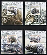 BURUNDI 2012 LES PORCS-EPICS DU CAP AFRIQUE DU SUD WILD ANIMAL STAMPS DELUX MNH