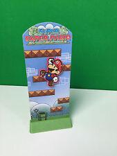 Super Paper Mario (Nintendo Wii) Burger King Promo Promotional Display Standee