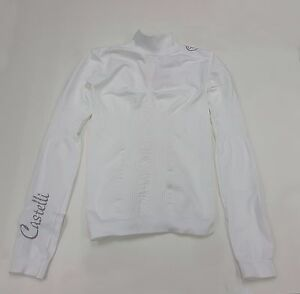Castelli Winter Women's Freddolosa Long Sleeve Cycling Base Layer White Size S-M