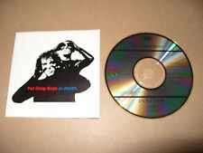 Pet Shop Boys In Depth cd Made In Japan 1989 Excellent condition