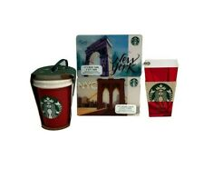 Starbucks Ornament New York Christmas Holiday 2016 Includes 3 Bonuses Gift New