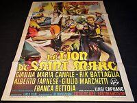 LE LION DE SAINT MARC gordon scott  affiche cinema 1963