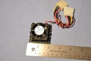 Jamicon JF-0413-BiM 12 Volt DC 0.1 Amp Cooling Fan 40 mm  Made Taiwan