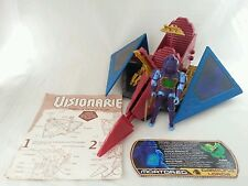Visionaries SKY CLAW Vehicle Complete w/ MORTDRED Action Figure Hasbro 1987