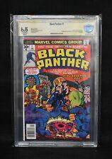Black Panther #1 (Marvel, 1977) Stan Lee Signature