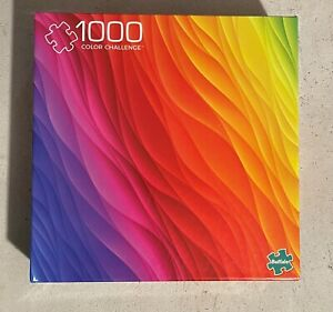 Buffalo Games Vivid Collection Color Challenge 1000 Piece Jigsaw Puzzle - New