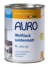 Auro Weißlack seidenmatt Aqua Nr. 260-90 2 5 L