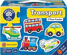 Orchard Toys TRANSPORT Educational Game Puzzle BN