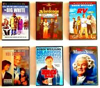 Robin Williams DVDs World's Greatest Dad, The Birdcage, Mrs. Doubtfire & more...