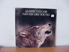 "JAMES TAYLOR ""Never Die Young"" Original SEALED LP from 1988 (COLUMBIA FC 40851)."