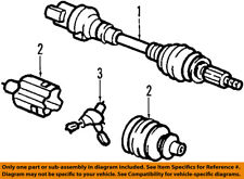 GM OEM Front Drive-CV Shaft Axle Assy 20859642