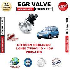 Pour Citroen Berlingo 1.6HDi 75/90/110 + 16 V 2005-ON vanne EGR 5-PIN avec joints