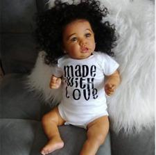 22'' Little Bess Reborn Baby Doll Girl, Handmade Realistic Baby Doll for Girls T