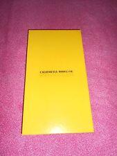 CALIFORNIA MODEL CO. COMBINATION TOWN DEPOT HO GAUGE CARDSTOCK KIT NIB