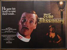 THE MISSIONARY (1982) - original UK quad film/movie poster, Michael Palin,comedy