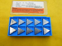 10 CARBOLOY USA TPG 322 E INDEXABLE CARBIDE INSERTS lathe mill tool bits