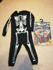 Skeleton Outfit age 3-4 years bnwts from Wilko