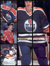 Lot of 7 Wayne Gretzky Oilers 1982-83 O-Pee-Chee 82-83 NHL Hockey Stickers
