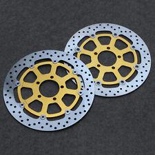 Floating Front Brake Disc Rotor For Suzuki GSXR600/750 1997-2003 GSX-R1000 01-02