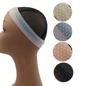 Silicone Non Slip Wig Gripper Grip Headband RopShaped Sport Elastic Hair Band