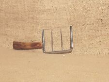Vintage Cheese Cutter/Angel Food Cake Cutter w/Marbled Bakelite Handle