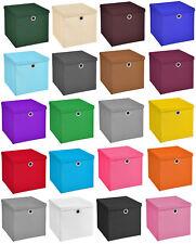 3er Set 32x32x32 Aufbewahrungsbox Spielkiste Regalkorb Faltkiste Korb Stoff Box