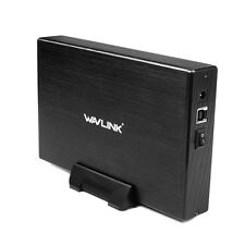 "Wavlink USB 3.0 to SATA For 3.5"" External HDD Enclosure Supports UASP US/EU Plug"